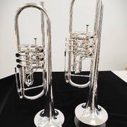Trompeta de cilindros Schagerl Berlin Heavy plateada. Desarrollada por Gábor Tarkövi, solista de la Orquesta Filarmónica de Berlín. La calidad del sonido es lo que distingue a esta trompeta 🎺 Un equilibrio perfecto en todos los registros. Una respuesta rápida y su tono oscuro es una característica de estos modelos, construidos a mano por los artesanos de @schagerlmusicgmbh en Austria. La trompeta que se adapta a tus necesidades profesionales. @schagerl_es #neomusica#trompeta#trumpet#trompetacilindros#trumpetcylinders#trumpetlife #trumpets#trompetistas#cilindros#trumpetstyle#musician#musicos#musica#schagerltrumpet#trumpetloverst#tiendademusica#tiendamusicavalencia#tiendadeinstrumentosmusicales#buñol