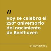🎂 El 16 de diciembre de 1770 nacía en Bonn (Alemania) el compositor que revolucionó la historia de la música. Hoy celebramos el 2️⃣5️⃣0️⃣ aniversario de Beethoven animándoos a escuchar a este gran genio. ¿Cuál es vuestra obra favorita? . . #beethoven #beethoven250 #aniversariobeethoven #musicos #curiosidadesmusicales #welovemusic